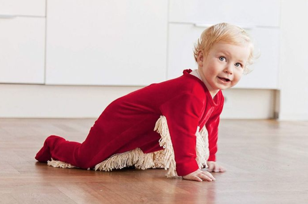 Babymop Allows Your Baby to Mop the Floor