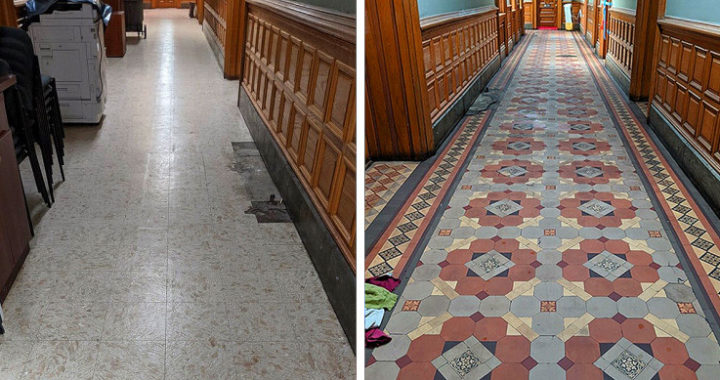 The city hall renovation that went viral