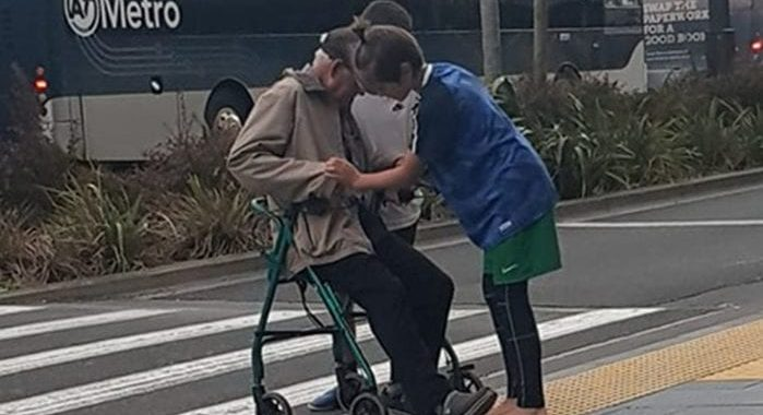 The elderly man who was helped by Pokemon Go
