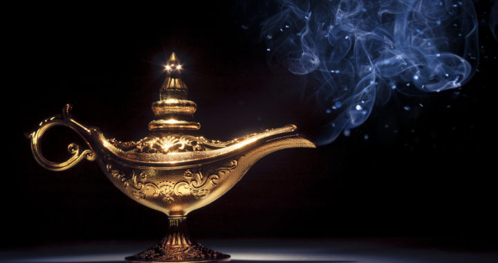 The genie in the lamp scam that shouldn't work but does
