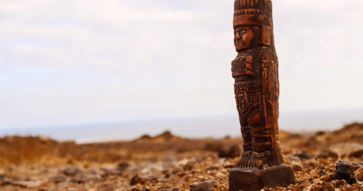 Mexican farmers find statue of pre-Hispanic ruler in orange grove