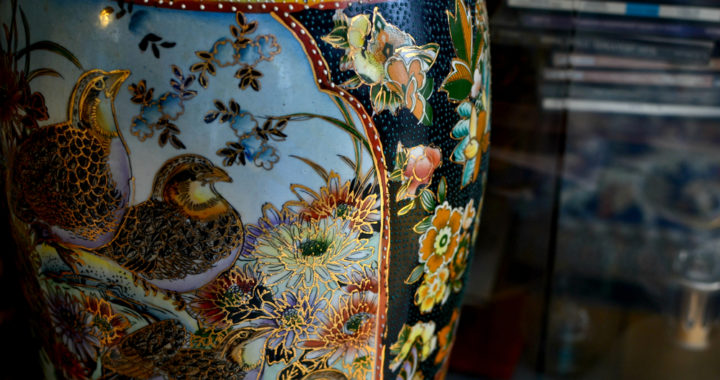 Is there a Chinese vase in your home?